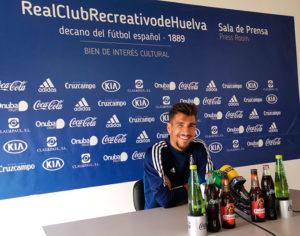 Para Diego Jiménez el domingo el Recre, si quiere ganar, debe mostrar su solidez. / Foto: @recreoficial.