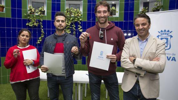 Consiguen montar su negocio en Huelva gracias al Vivero de Empresas del Ayuntamiento