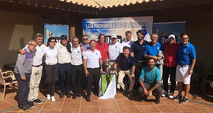 El Club Bellavista impone su veteranía para superar al Nuevo Portil y apuntarse la Liga Provincial de Golf
