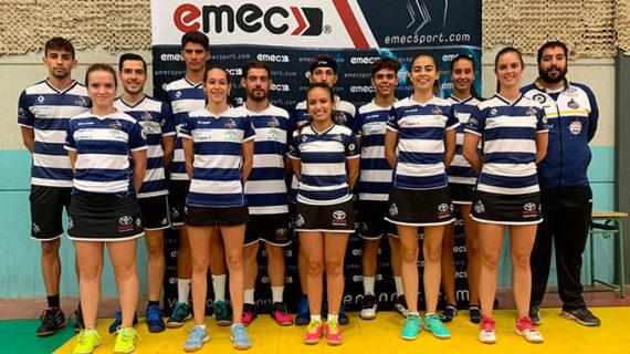 Pleno de victorias del Fundación Cajasol IES La Orden en el inicio de la Liga Andaluza de Clubes-Segunda División de bádminton