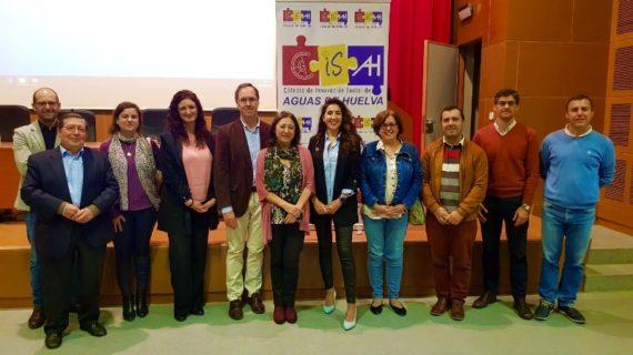 Jornada sobre la colaboración de investigación entre Aguas de Huelva y la Uhu