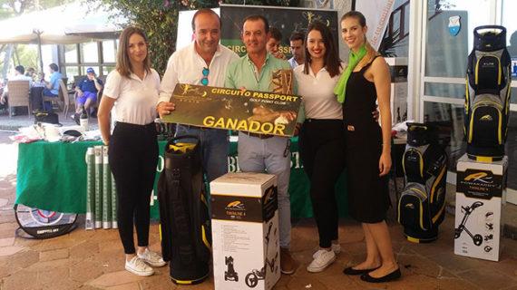 José Manuel Limón Carranza, vencedor scratch del IV Circuito Passport Tour 2019 del golf
