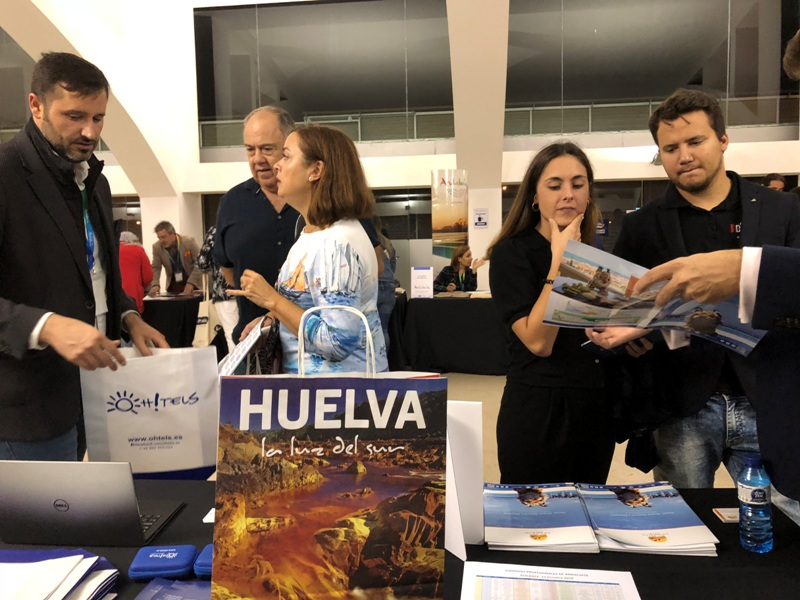 Huelva promociona su oferta turística en Murcia, Alicante y Valencia