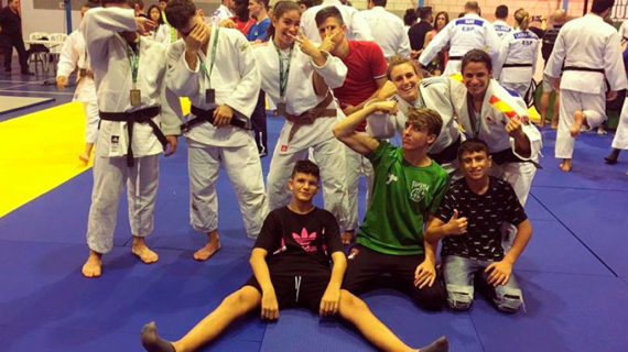 El Club Judo Huelva TSV cierra el Campeonato de Andalucía con dos oros y tres platas
