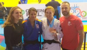 Representantes del TSV Judo Huelva en la European Cup de Málaga.
