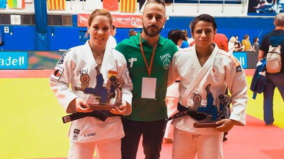 Medallas de oro para Cinta García y Almudena Gómez en la Copa de España de Judo en Getafe