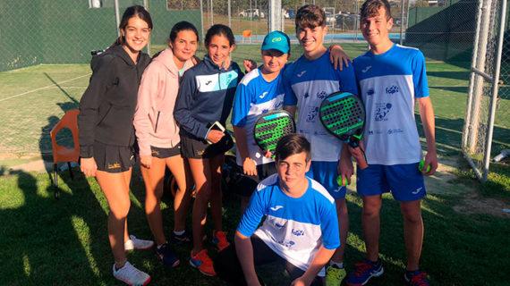 El AVS La Volea acumula experiencia en el Campeonato de España Infantil por Equipos de Segunda Categoría de Pádel