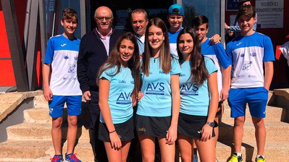 El AVS La Volea disputa este fin de semana el Campeonato de España Infantil por Equipos de Segunda Categoría de Pádel
