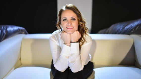 La productora Marta Velasco, Premio Luz del Festival de Cine