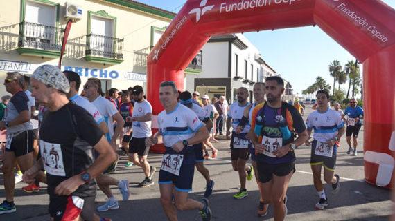 Victoria de José Luis Ferrer y Esther Fernández en el XXI Media Maratón Palos-Cepsa