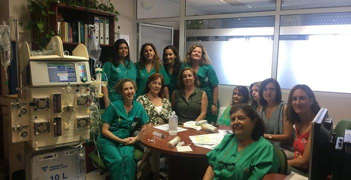 El Hospital de Riotinto avanza en la asistencia al paciente crítico con la incorporación de la diálisis continua