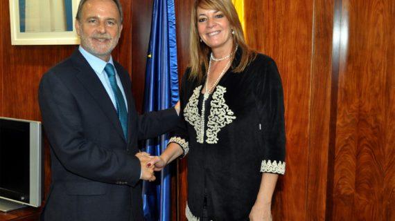 Autoridad Portuaria de Huelva y Puertos del Estado consensuan el plan de empresa del puerto para 2020