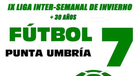 Abierto el plazo de inscripción para tomar parte en la IX Liga de Invierno de Fútbol 7 en Punta Umbría