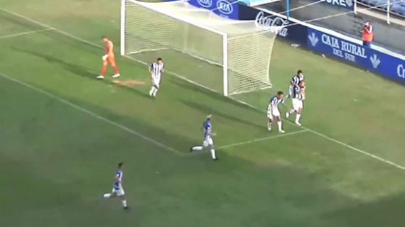 El Recre se tiene que conformar con un empate (1-1) ante la Balona en un partido que pudo ganar cualquiera