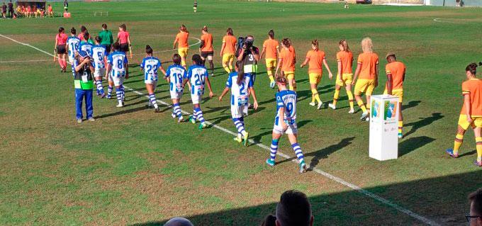 El Sporting de Huelva se aferra a un sueño casi imposible en su duelo copero ante el Barcelona