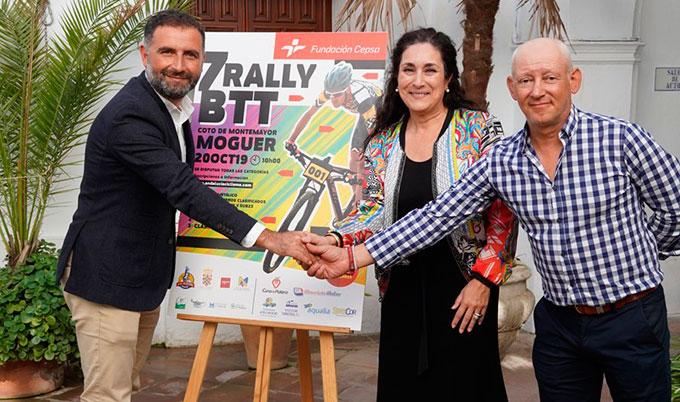 Todo preparado en Moguer para la disputa este domingo del VII Rally BTT Coto de Montemayor