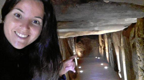 Mari Carmen Rafallo Bautista, una pieza clave en la promoción turística de Trigueros y la difusión del Dolmen de Soto