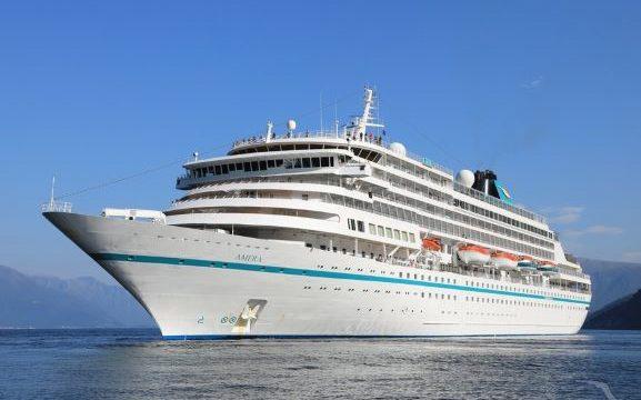El buque de cruceros 'Ms Amera' atraca este miércoles en el Muelle Sur del Puerto de Huelva con 547 cruceristas