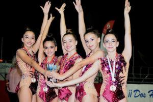 Equipo Infantil Precopa, oro en su categoría en Dos Hermanas.