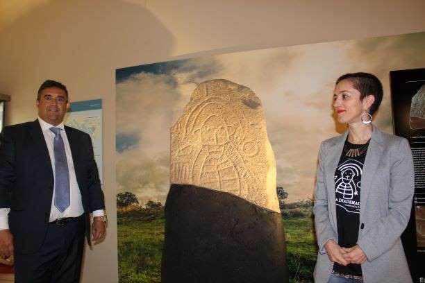 El Museo ya muestra la Estela Diademada de Cañaveral de León