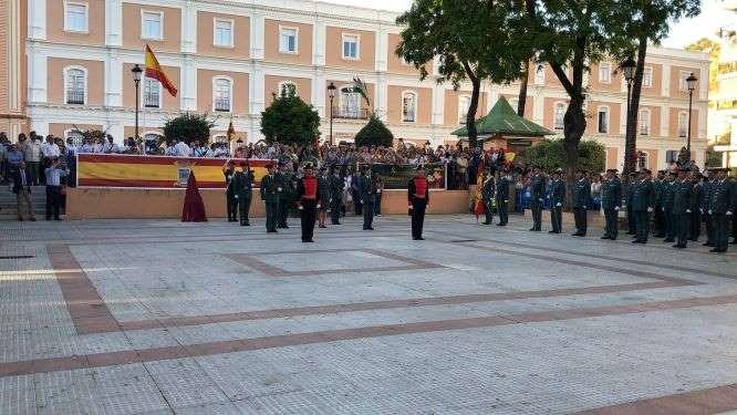La Guardia Civil invita a la ciudad de Huelva a los actos de celebración de su Patrona