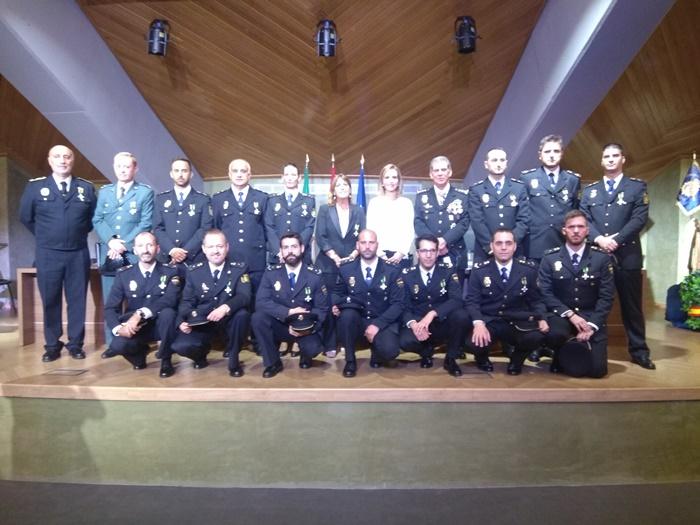 La Policía Nacional celebra en Huelva la festividad de los Santos Custorios y su 195 Aniversario