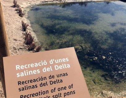 San Juan del Puerto estudia importar el modelo de restauración paisajística de las Salinas de Amposta