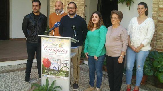 La Feria Centro Campiña de Trigueros resalta las bondades del producto agrícola local