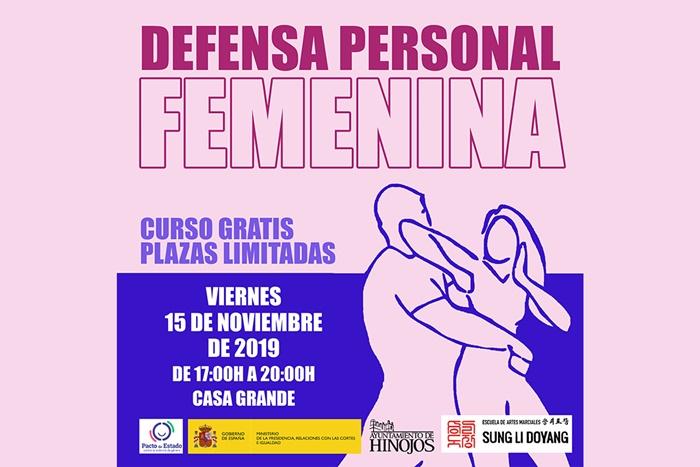 Hinojos acoge un curso de defensa personal para mujeres