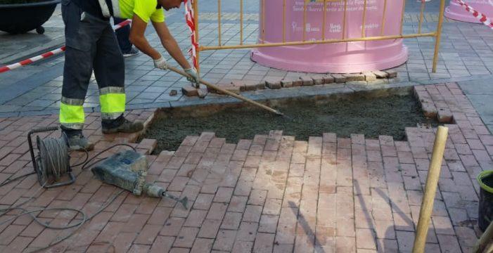 Culminan 67 actuaciones de mantenimiento en la ciudad de Huelva
