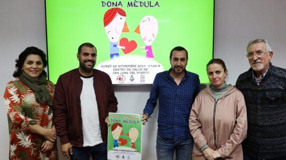 """Con """"Dona sangre, dona médula"""" se pretende alcanzar los mil donantes en San Juan del Puerto"""