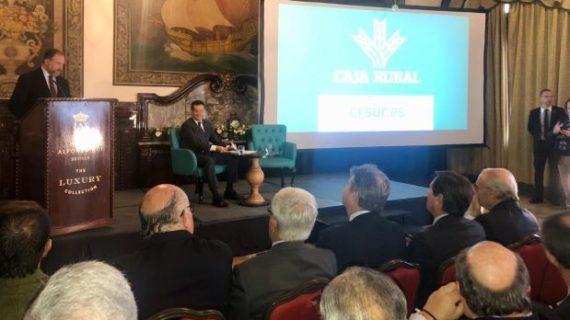 El presidente de Caja Rural del Sur llama a la coordinación de todo el sector para hacer frente a las amenazas de la agricultura