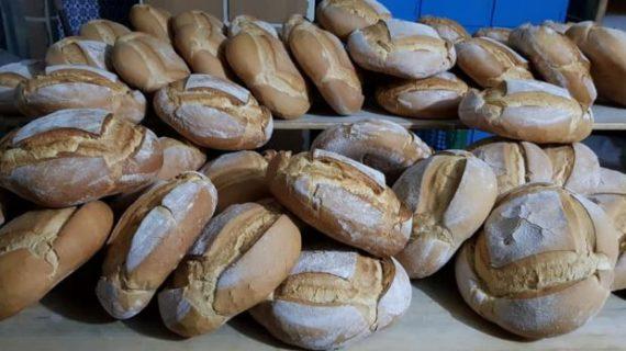 Una panadería de Higuera de la Sierra, elegida como una de las que mejor hornean el pan en España