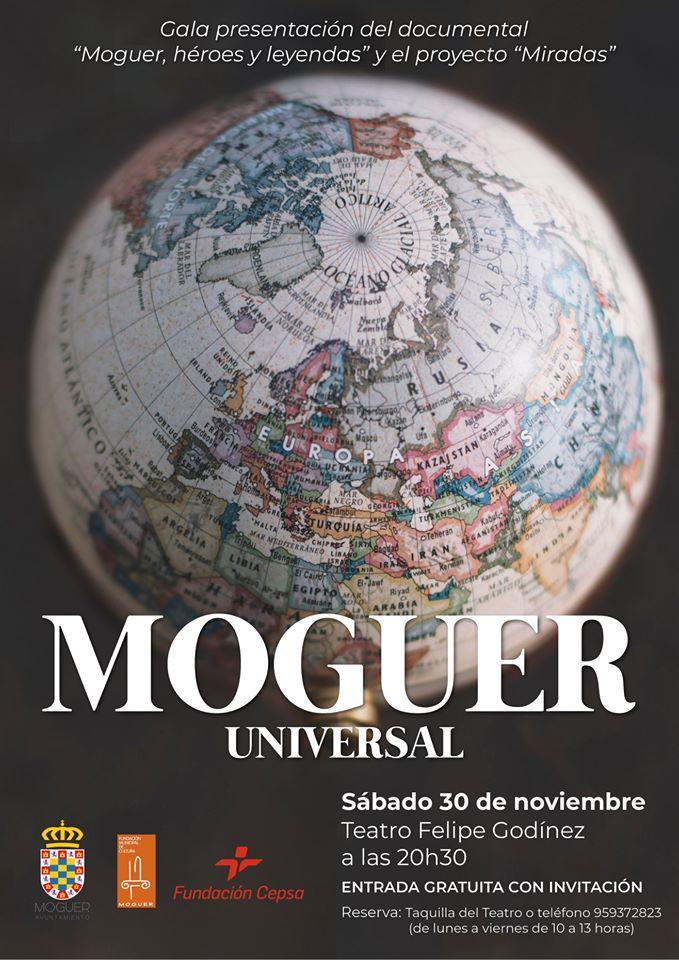 El documental 'Moguer, héroes y leyendas' recoge la historia del municipio a través de sus vecinos más ilustres