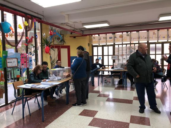 Con el 70% escrutado, el PSOE obtiene 3 diputados, 1 Vox y 1 PP