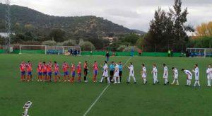 Una nueva 'final' aguarda al Aroche en casa, este domingo ante el Atlético Algabeño. / Foto: @lineadegol.
