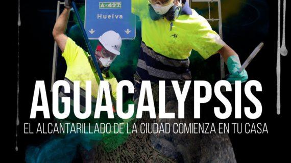 """Aguacalypsis"", la invasión de toallitas mutantes en Huelva"