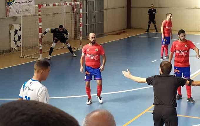 El CD Villalba FS se impuso el sábado en la cancha del CD San Juan.