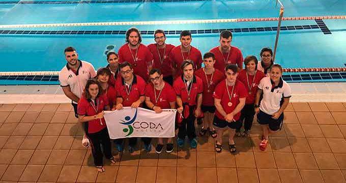 David Sánchez brilla con dos oros en el XXIV Campeonato de Andalucía de natación adaptada