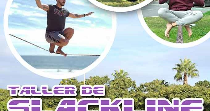 El Servicio de Deportes de la Mancomunidad de Islantilla pone en marcha un Taller de Slackline