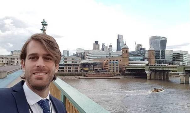 Pablo Ibars, finanzas con acento onubense desde Cardiff