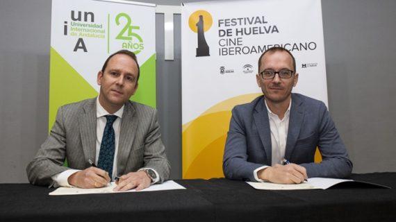 La UNIA sella su compromiso con el Festival de Huelva de Cine Iberoamericano