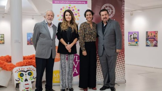 El OCIb rememora la Fiesta de Muertos mexicana con dos exposiciones en la UHU