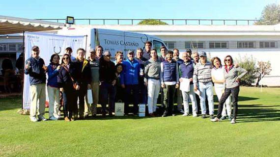 El Club de Golf Bellavista alberga con rotundo éxito el I Torneo 'Jamones Tomás Castaño'