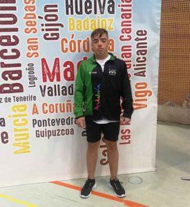 Nuevo éxito de Daniel Marín, ahora en el Campeonato de España.