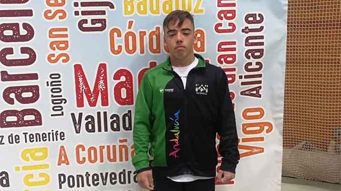 Daniel Marín conquista una meritoria cuarta plaza en el Campeonato de España Sub 15 de halterofilia