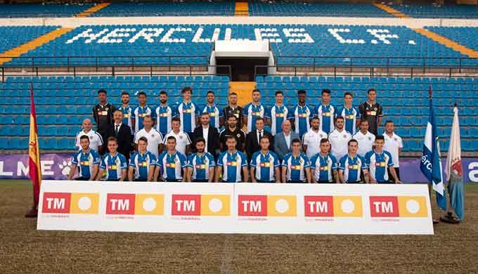 El Hércules, rival del Recreativo de Huelva en la primera eliminatoria de la Copa del Rey