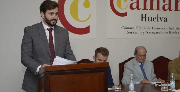 Daniel Toscano, elegido nuevo presidente de la Cámara de Comercio de Huelva