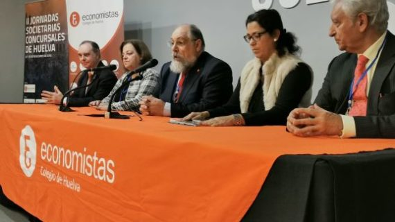 El Colegio de Economistas de Huelva reclama un juzgado de lo Mercantil exclusivo para la provincia de Huelva