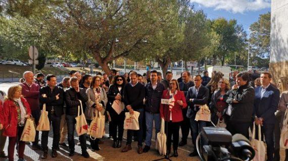 El PSOE llama a toda la gente de izquierdas a llenar las urnas este domingo